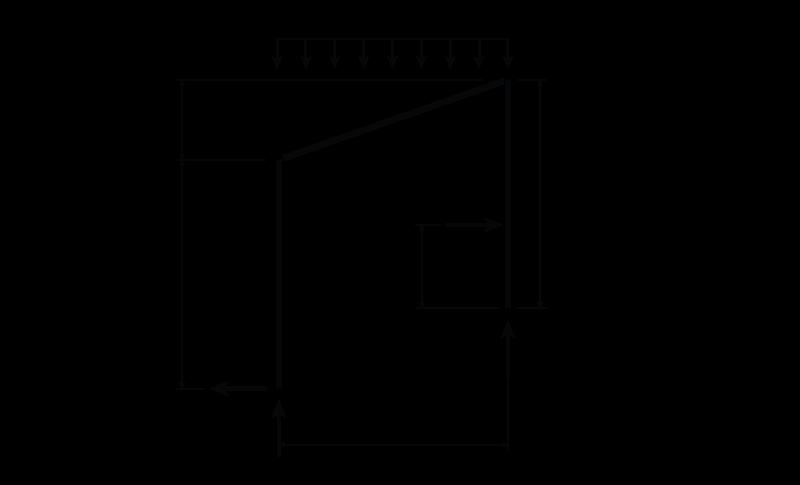 4 4 determinate frame analysis learnaboutstructures com rh learnaboutstructures com